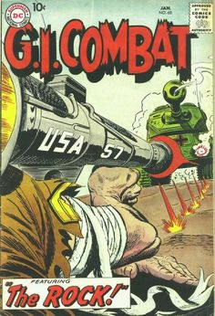 Silver and Bronze Age Subjects: DC Big 5 War Comics: Our Army at War