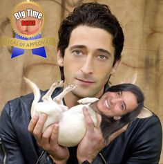 Sara's Big Time Date With Adrian Brody