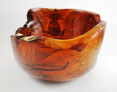 Wood Bowl No.130639  Cocobolo Natural Edge by conreysa on Etsy, $125.00