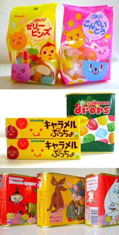 why is japanese candy so much cuter than ours?