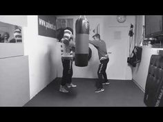 Coach Roger Mittology Training - Heavy bag and some great padwork with Marius Lilleås Hansen. - YouTube