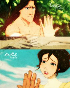 I love Tarzan. It's one of the best movies ever made.