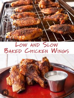 These are the best wings you can make without a deep fryer and maybe even with one! Fall off the bone tender and an awesome spice rub! ☆Made 7/10/15 RG☆ GREAT RECIPE!!