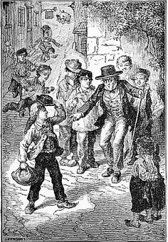 The Mouse-Trap - Five Little Mice in a Mouse Trap By the Man in the Moon by Laura E. Richards, 1880