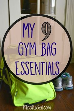 My 9 gym bag essentials || Being well equipped at the gym will make your workout so much better