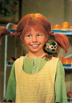 Pippi Langstrump (Pippi Langkous, Pippi Longstocking) my hero My Childhood Memories, Sweet Memories, Series Movies, Tv Series, Paddy Kelly, My Youth, The Good Old Days, My Hero, Nostalgia