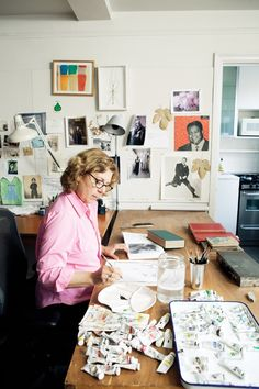 """Maira Kalman is a Storyteller. """"That sense of connectedness and pleasure in the small things in life – I've had that forever."""""""