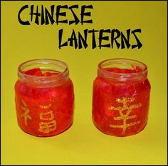 Chinese Lantern Craft for kids