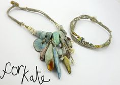 RESERVED FOR KATE Convertible Necklace Bracelet  by greybirdstudio, £32.50