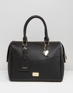 Image 1 ofMarc B Classic Structured Bowler Tote Bag