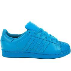 Homme Adidas Originals Superstar Bleu-rouge