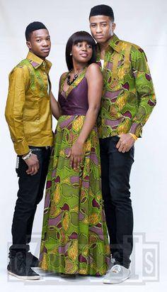 SUBIRA WAHURE  African Men's fashion & style