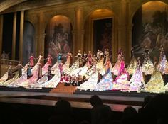 Fiesta San Antonio Coronation-each dress weighs over 50lbs! Gowns can be seen at Witte Museum