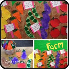 Happy friday everyone! I am still focusing on the farm, over here in kinder-land! I have to share with you this cute little project we di...
