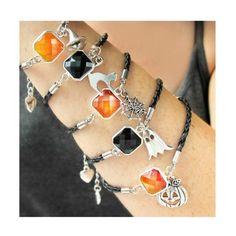 Halloween Jewelry-Halloween Charm Bracelet-Gifts for