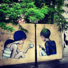 •Seth GlobePainter, Paris (http://m.demotivateur.fr/article-buzz/ce-street-artist-francais-transforme-des-murs-d-immeubles-terriblement-ennuyeux-en-d-epoustouflantes-uvres-d-art-4465) (https://www.instagram.com/p/nER9uTuMck/)