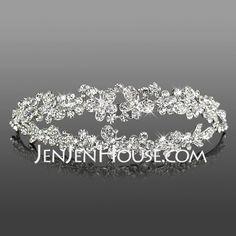 Headpieces - $26.99 - Headpieces (Gorgeous Clear Crystals Wedding Bridal Tiara 042005467) http://jenjenhouse.com/Headpieces-Gorgeous-Clear-Crystals-Wedding-Bridal-Tiara-042005467-g5467
