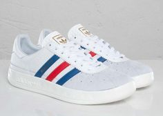 adidas Originals Munchen – White/Lone Blue-Light Scarlet