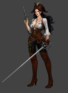 ArtStation - pirate, danbee choi