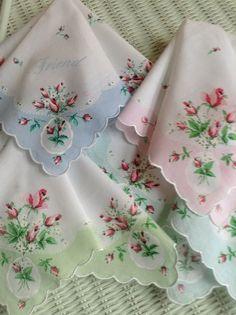 (via Dainty Vintage Handkerchiefs | Hanky Panky | Pinterest)