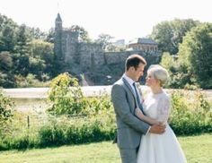 Central Park Wedding - by Belvedere Castle