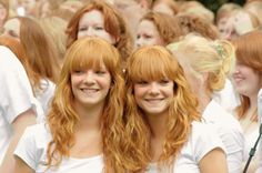 International redhead day in Breda, Netherlands, gorgeous twins Anne & Malou Luchtenbery - by han905