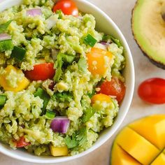 Since I eat both of these amazing treats very regularly, this will have to be made: )  Avocado Quinoa: Just tried for a healthy dinner! Loved it