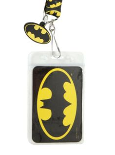 DC Comics Batman Logo Lanyard