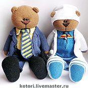 Куклы и игрушки ручной работы. Ярмарка Мастеров - ручная работа Мишки большие. Handmade.