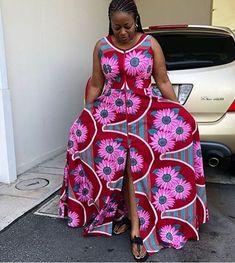Stylish Ankara Look-Book - Sisi Couture Ankara Dress Styles, African Print Dresses, African Wear, African Attire, African Women, African Dress, African Prints, African Outfits, African Style