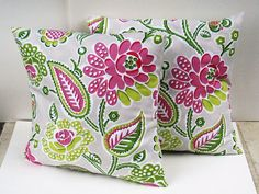Decorative pillows-great for a patio!