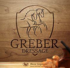 Horse Logo for Greber Dressage Business Logo, Business Card Design, Horse Clip Art, Letterhead Logo, Farm Logo, Commercial Printing, Horse Logo, Diy Inspiration, Tattoos For Daughters