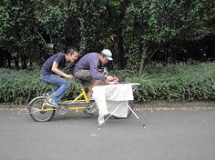 Japanese sports: extreme ironing
