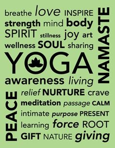 Yoga is a great way to help reduce stress in your life and relax your mind and body. This is a great way to exercise daily in your life and help you connect within yourself. Yoga can help reducing anxiety and decreasing panic attacks. Sup Yoga, Bikram Yoga, Kundalini Yoga, Pranayama, Cardio, Qi Gong, Reiki, Chakras, Yoga Nature