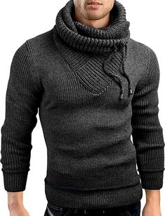 online retailer 9fad6 dab7f Amazon.com  Grin Bear Slim Fit Shawl Collar Knit Sweatshirt Cardigan  Hoodie, GEC555