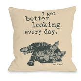 $26.99 16x16 Larger sizes available Found it at Wayfair - Better Looking Every Day Woven Polyester Throw Pillow