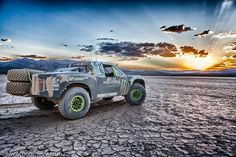 "BJ ""Ballistic"" Baldwins Monster Energy Trophy Truck"