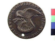 Medaglia in bronzo di Andrea Guazzalotti per Pio II | Collezioni online | Museo Civico Archeologico di Bologna | Iperbole