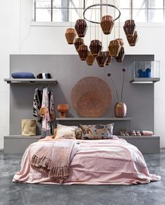Master bedroom design tips - It feels awful to acquire halfway using a project and see that the funds do not know of your cost involved. This can help lower your anxiety and stress while designing. Colorful Interior Design, Decor Interior Design, Interior Styling, Interior Decorating, Nordic Interior, Comfy Bedroom, Bedroom Decor, Pink Bedrooms, Master Bedroom Design