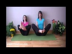 Flower Pose - celebrate spring, develop core strength, concentration & balance