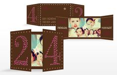 """Weihnachtskarte """"24tes Türchen"""""""