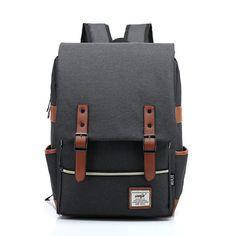 Fashion Women Bag Canvas Backpack Men Oxford Travel Bags Retro Backpacks  Teenager School Bag Women Famous ecdff77b564a5