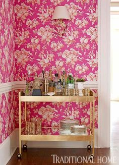 Pink in Every Room | Traditional Home