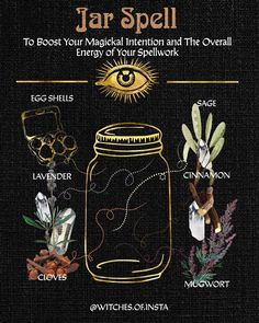 Spells For Beginners, Witchcraft For Beginners, Witch Spell Book, Witchcraft Spell Books, Jar Spells, Wiccan Spells, Wiccan Witch, Wiccan Magic, Magic Spells