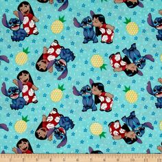 Disney Lilo And Stitch Ohana Means Family Multi Bright - wouldn't this make a cute playsuit?