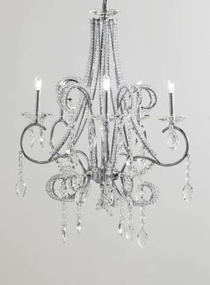 Bathroom Chandeliers Bhs trinity 5 light chandelier - ceiling lights - home, lighting