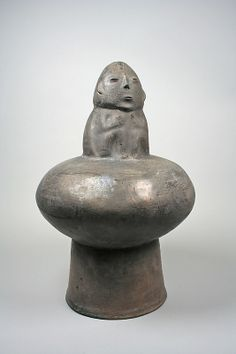 Drum with Head Date: 3rd century BCE Geography: Peru, Ica Valley Culture: Paracas Medium: Ceramic