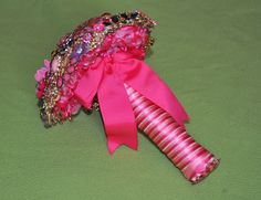Popping Pink Brooch Bouquet