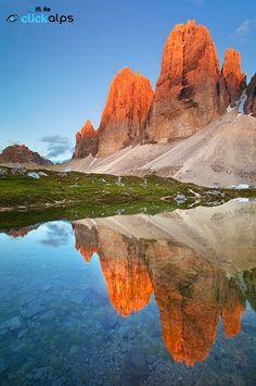 Tre Cime di Lavaredo -Dolomites, italy