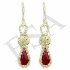 Drop Earrings, Knots, Jewelry, Fashion, Moda, Jewlery, Jewerly, Fashion Styles, Schmuck
